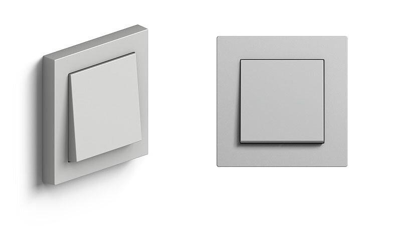 розетки и выключатели gira e2 матовый серый